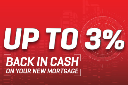 Up to 3% Back in Cash