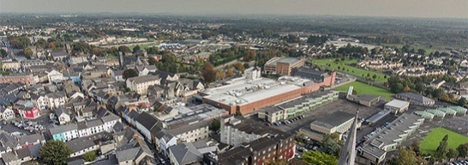 Ariel view of Ennis